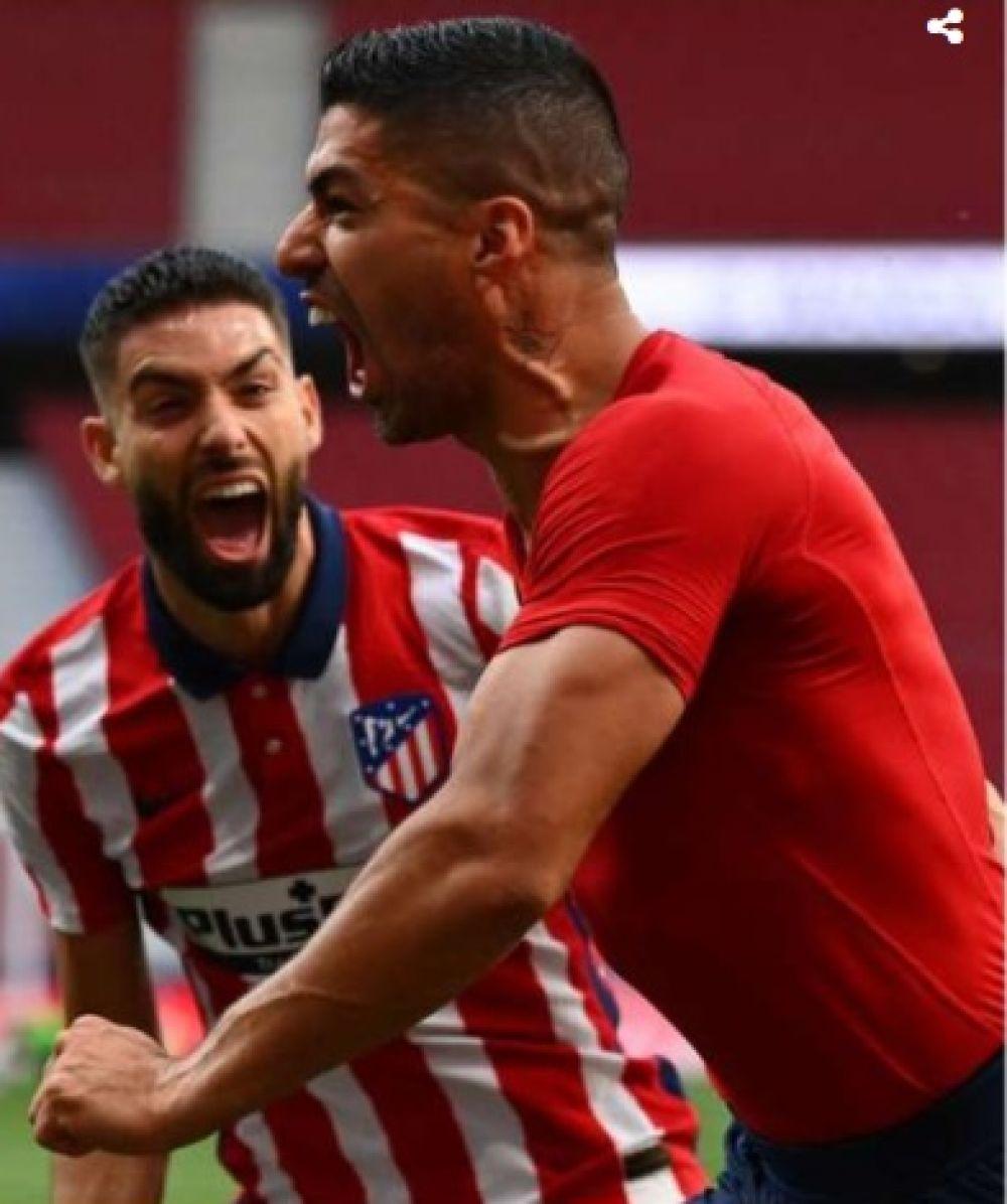 Liga Española: Atlético Madrid ganó agónicamente y se acerca al título