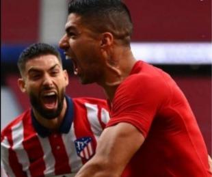 foto: Liga Española: Atlético Madrid ganó agónicamente y se acerca al título
