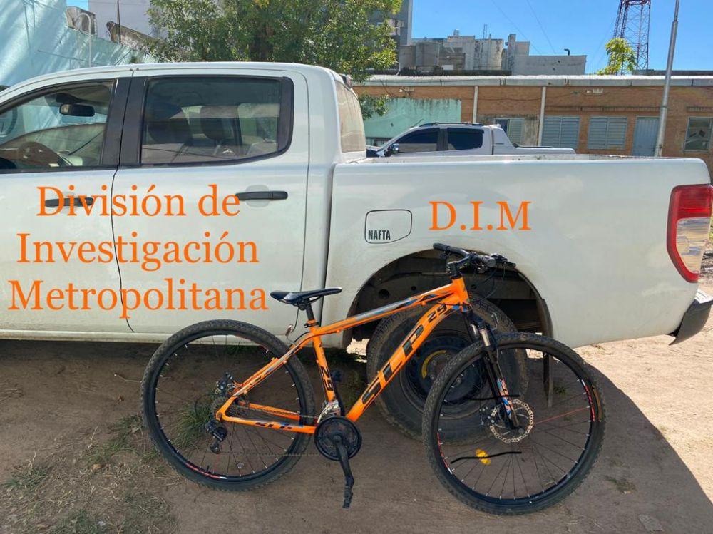 La Policía recuperó una bicicleta de alta gama que había sido robada