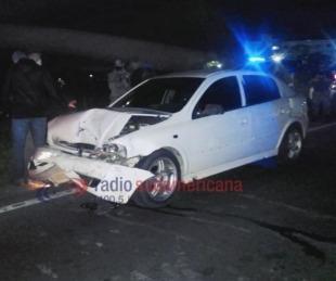 foto: Escapaban de Gendarmería y terminaron chocando con dos autos