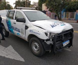 foto: Así fue como un patrullero cruzó en rojo y mató a un delivery