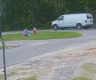 foto: El aterrador momento en el que una niña evitó que la secuestraran
