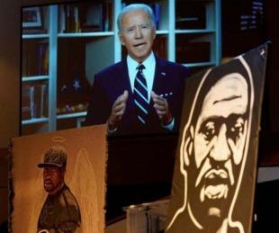 foto: Joe Biden recibió a familiares de George Floyd