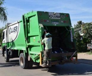 Casos de Covid en LUSA: garantizan la recolección de residuos