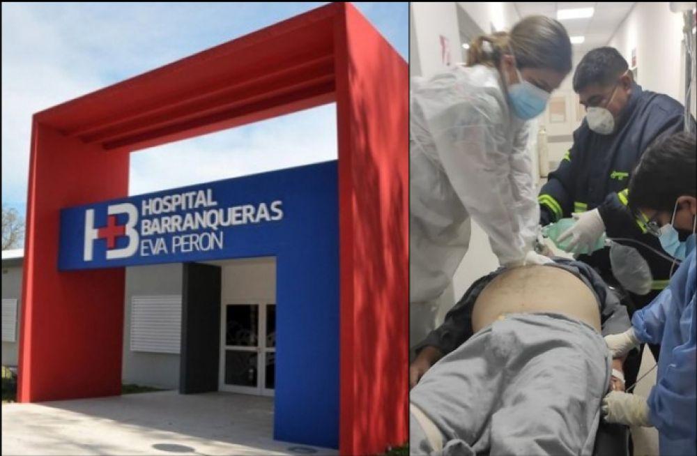 Chaco: paciente con covid-19 falleció en el pasillo del hospital