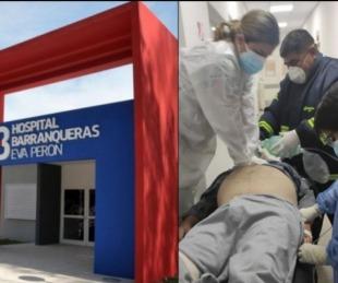 foto: Chaco: paciente con covid-19 falleció en el pasillo del hospital