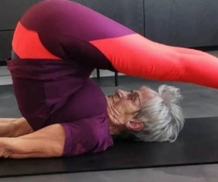 foto: Tiene 81 años y sus rutinas de ejercicio son furor en redes sociales