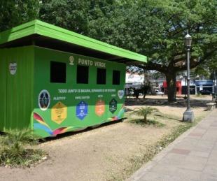 foto: Nueva modalidad en la recolección diferenciada de los Puntos Verdes