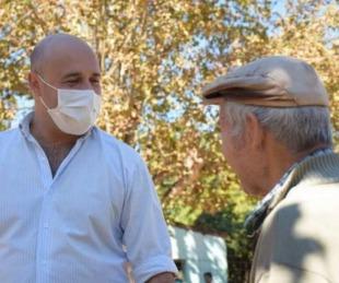 foto: Tincho Ascúa es optimista por la llegada y producción de vacunas