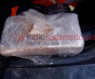 foto: Iban en auto con dos menores y más de un kilo de cocaína en el baúl