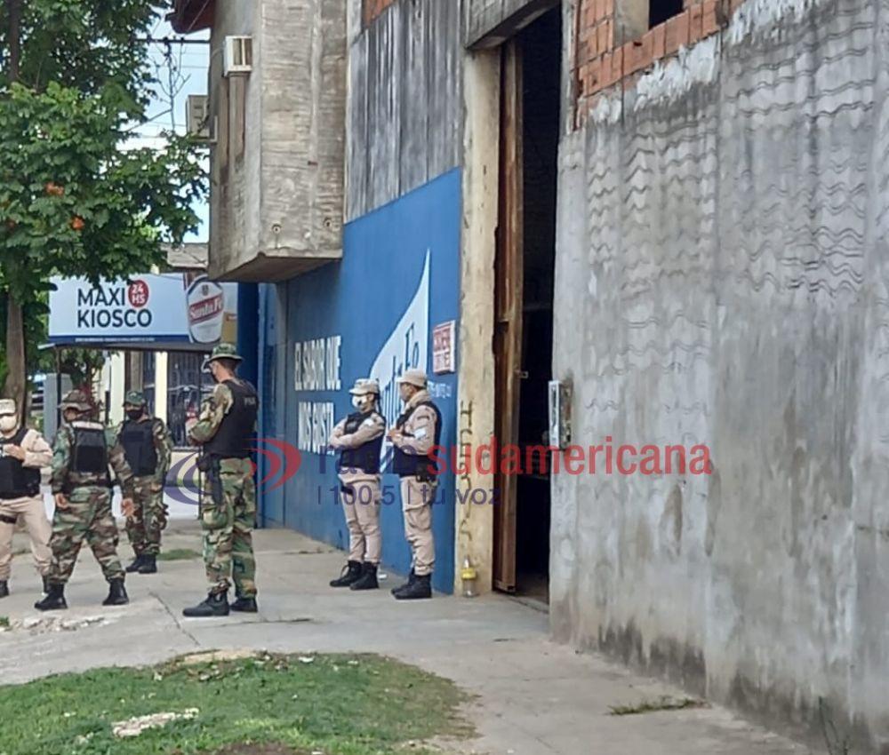 Secuestraron armas, vehículos y detuvieron a cuatro personas