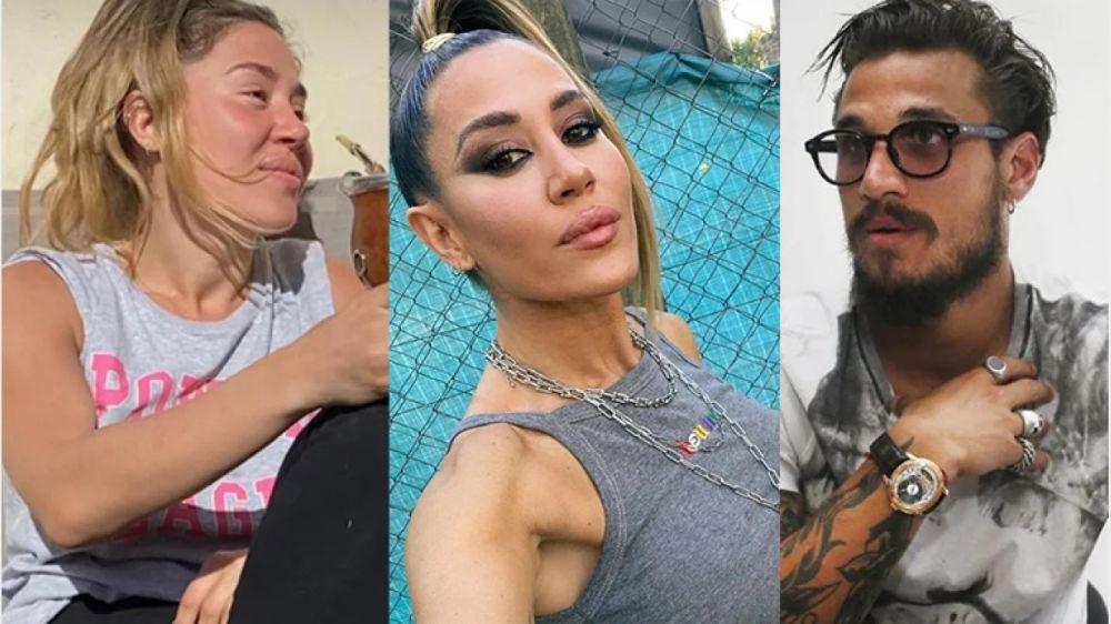 Autocrítica de Jimena Barón al ver una foto de su cuarentena con Daniel Osvaldo