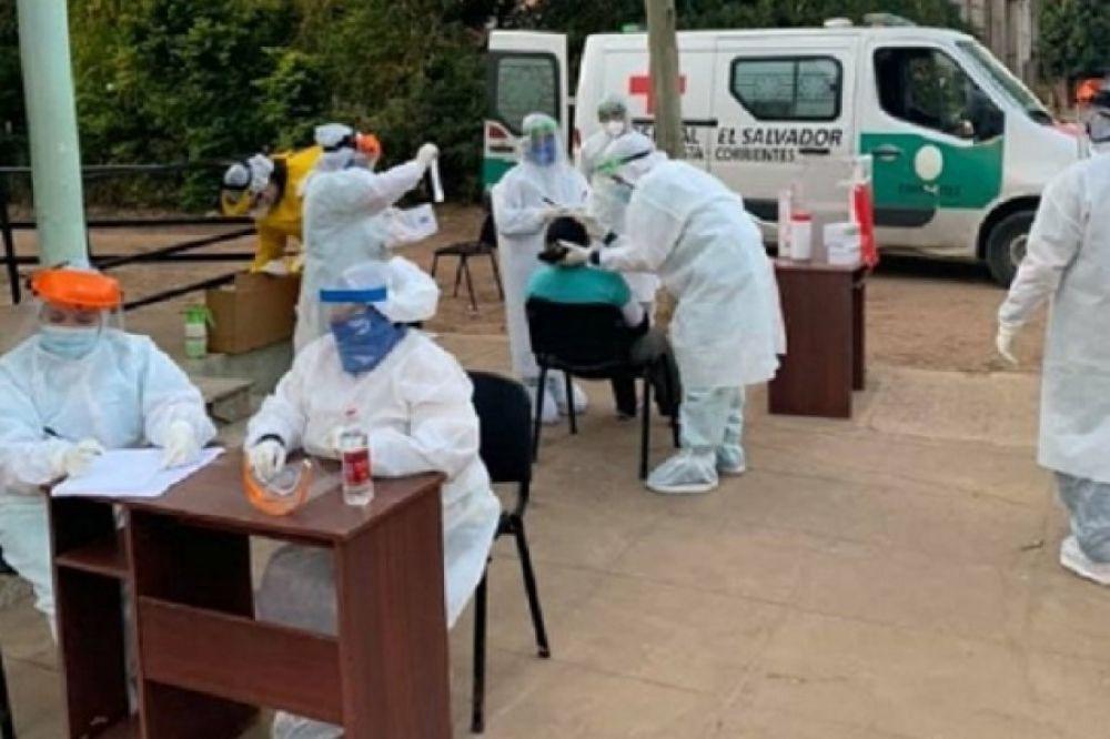 Detectaron 821 casos de Covid 19 en Corrientes: 347 en Capital