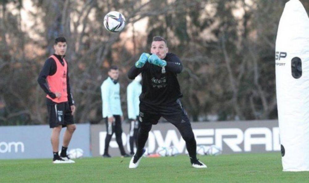 Armani volvió a dar positivo de Covid ¿se pierde la Copa América?