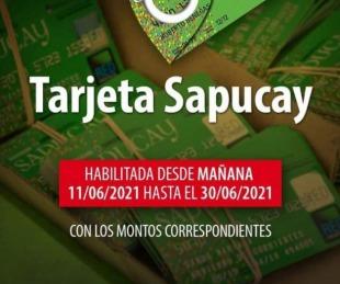 foto: Desde el viernes 11 de junio se habilitarán las Tarjetas Sapucay