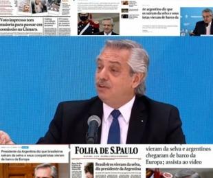 foto: Fuerte repercusión de Brasil y México tras la icónica frase de Alberto