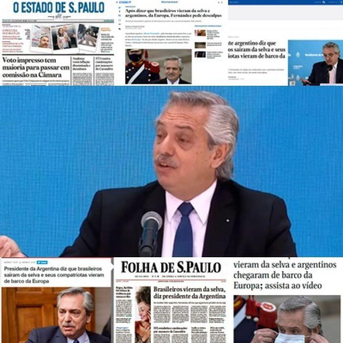 Fuerte repercusión de Brasil y México tras la icónica frase de Alberto