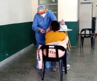 foto: Se vacunaron alrededor de 500 personas en centros de rehabilitación