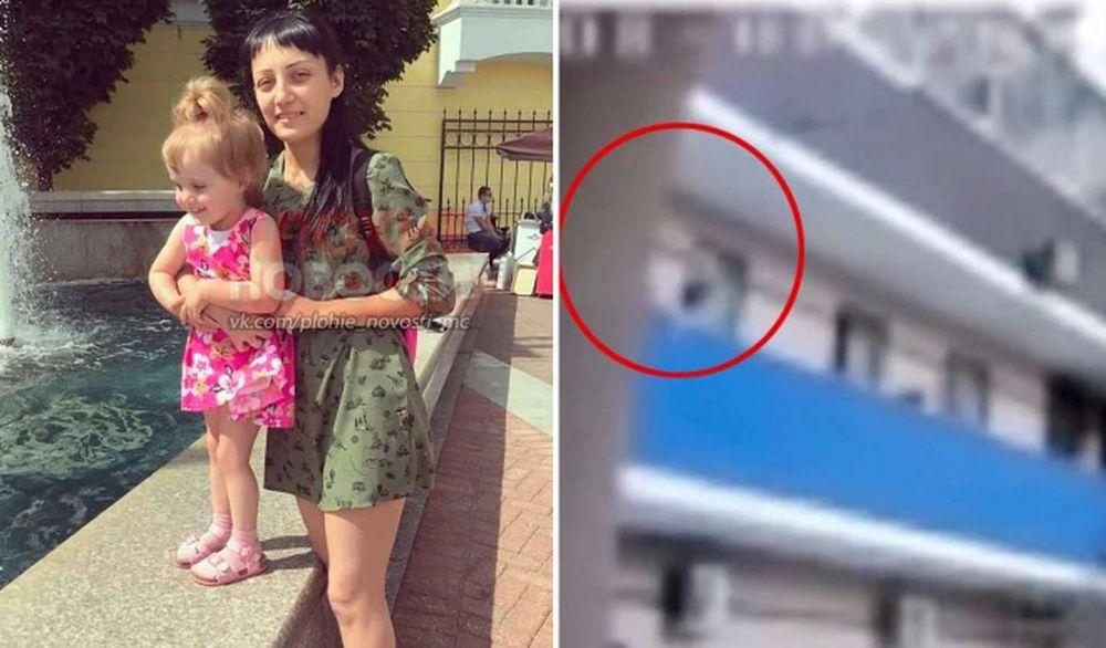 Colgó a su hija sobre el balcón de un sexto piso y murió al caer al vacío