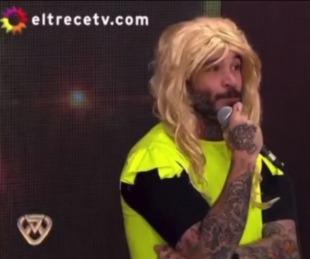 foto: El humorista correntino que llegó al programa de Marcelo Tinelli