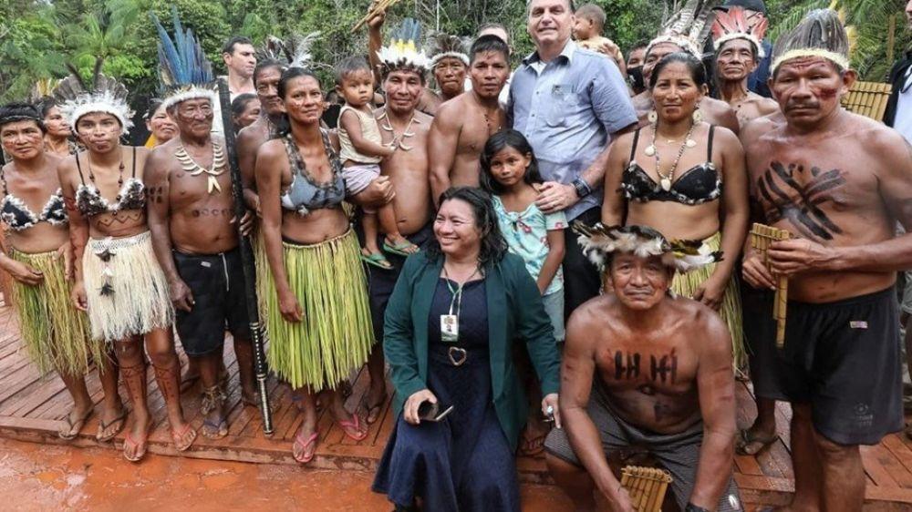 La respuesta de Bolsonaro a la icónica frase de Alberto Fernández