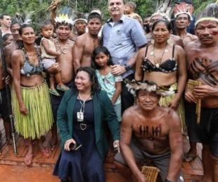 foto: La respuesta de Bolsonaro a la icónica frase de Alberto Fernández