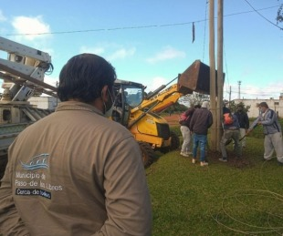 foto: Libres realizó obras de recuperación y mejora del alumbrado público