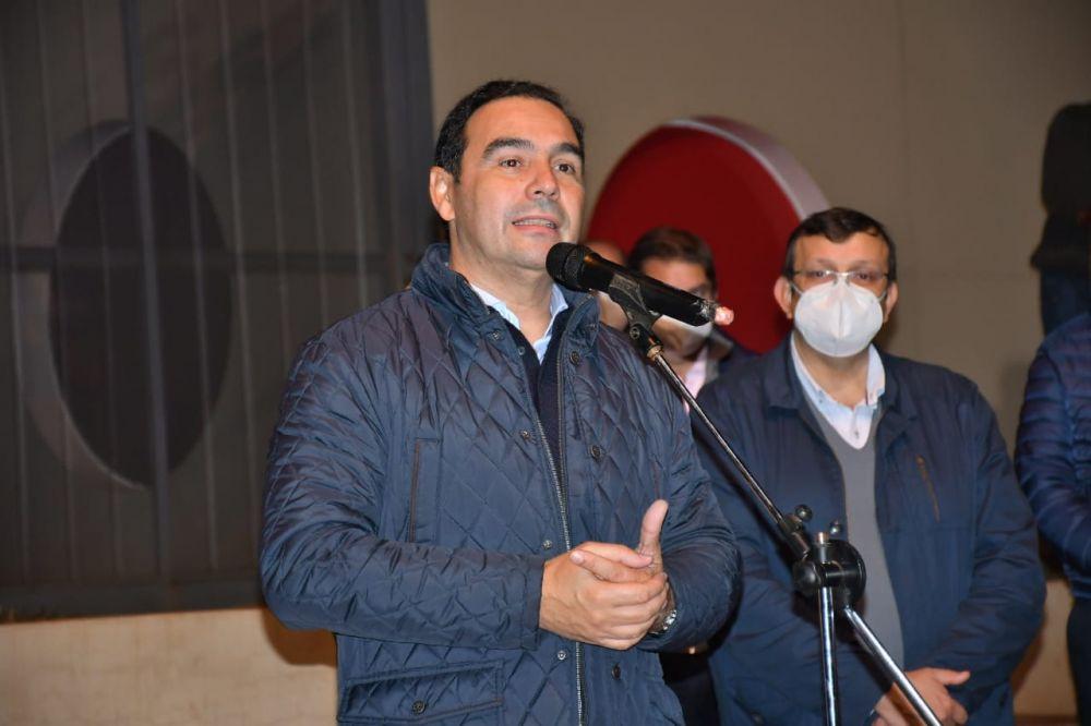 Valdés participó de la inauguración de pavimentación en Virasoro