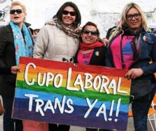 foto: Diputados aprobó el proyecto de ley de cupo laboral trans