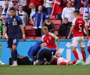 foto: Salió el primer parte del futbolista desvanecido en pleno partido