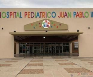 foto: El Hospital Pediátrico registra tres pacientes internados con Covid