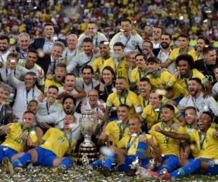 foto: Brasil recibe el torneo con tensiones políticas y estrés sanitario