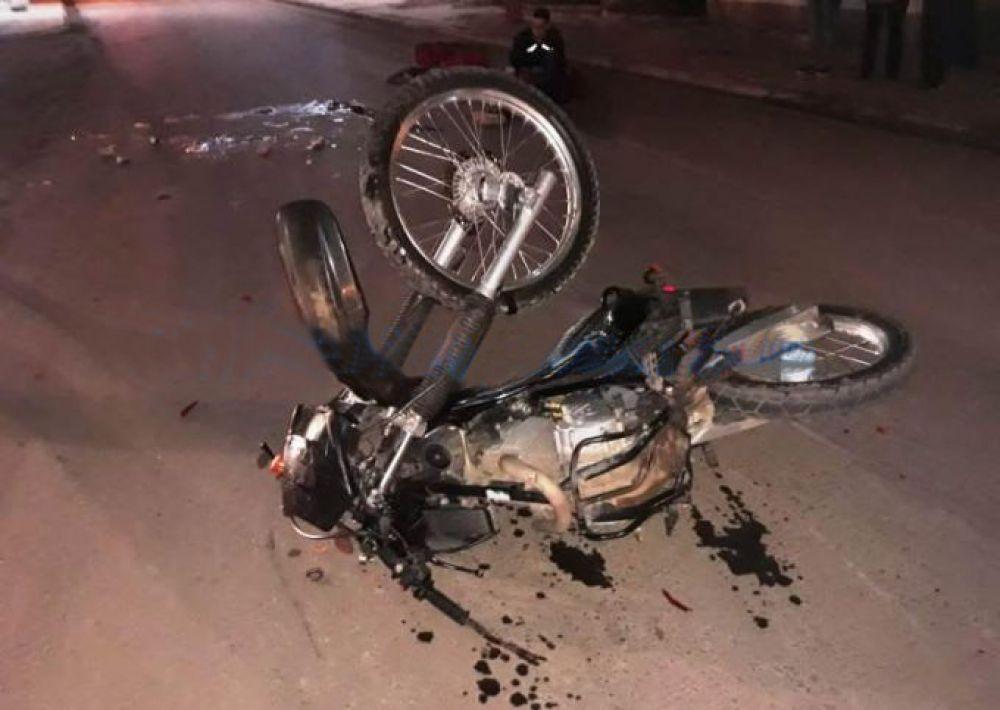 Un hombre murió tras caer de su moto en cercanías del Aeropuerto