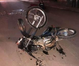 foto: Un hombre murió tras caer de su moto en cercanías del Aeropuerto