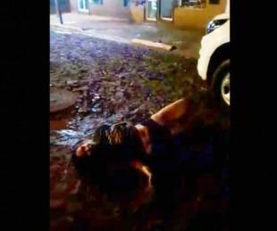 foto: Misiones: Policías asisten a una supuesta posesión diabólica