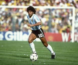 foto: A seis meses de su muerte, así fue el homenaje a Diego Maradona