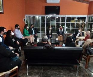 foto: Valdés se reunió con el Foro de Educadores Radicales Correntinos