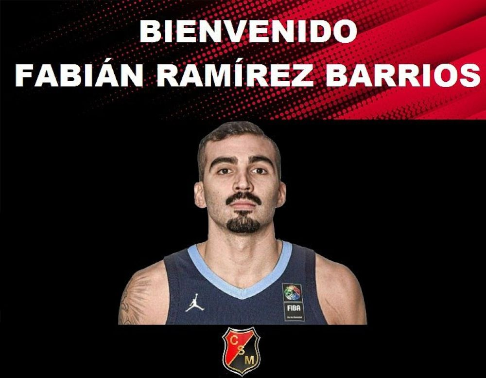 Fabián Ramírez Barrios se suma al plantel de San Martín