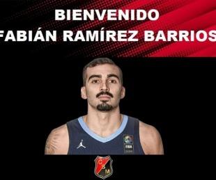 foto: Fabián Ramírez Barrios se suma al plantel de San Martín