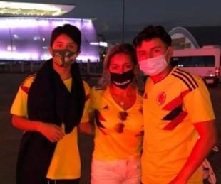foto: Una familia viajó a ver la Copa y se enteraron que es sin público