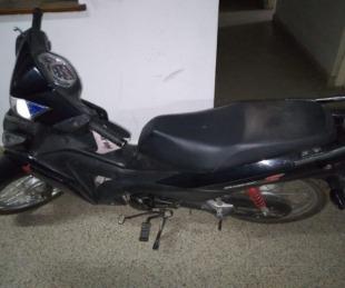 foto: Recuperaron una motocicleta que minutos antes fue robada
