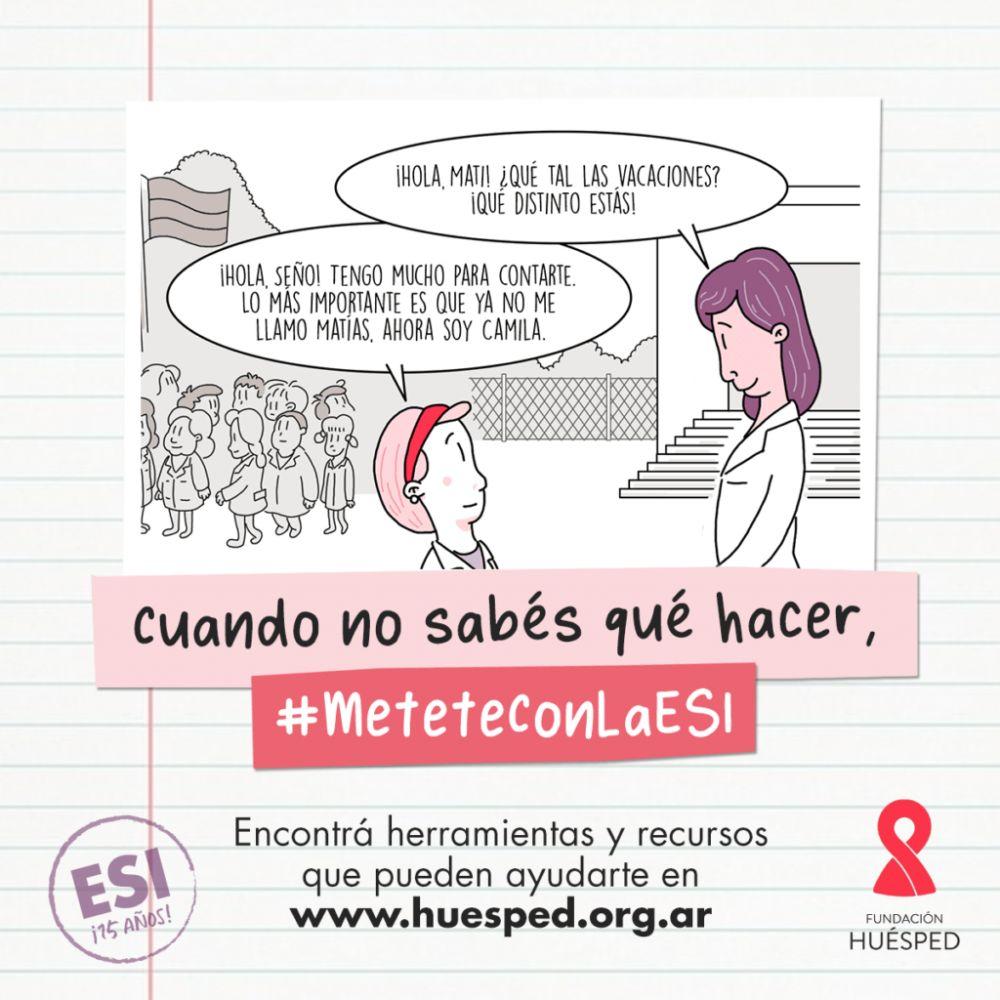 Lanzan una campaña sobre ESI para docentes de Corrientes