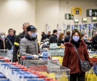foto: Discusión por un barbijo terminó con un muerto en un supermercado