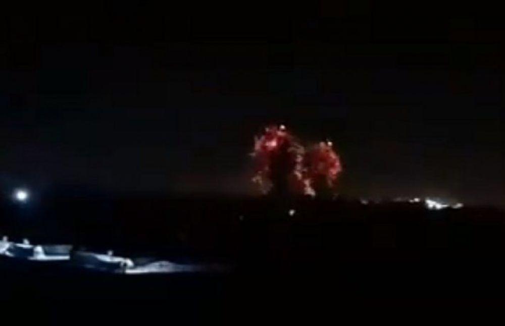 Impactantes imágenes del nuevo bombardeo de Israel sobre Gaza