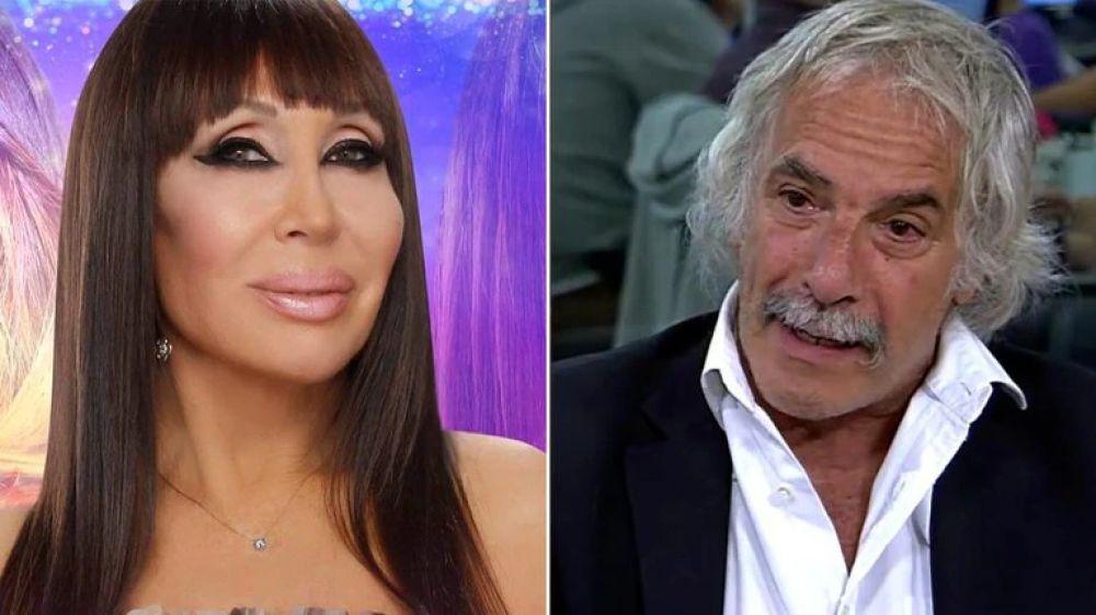 Moria Casán habló de su romance con Fernando El Pato Galmarini