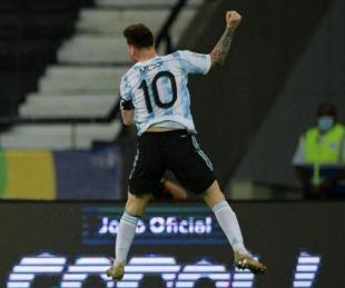 foto: Messi publicó un mensaje motivador antes del clásico con Uruguay