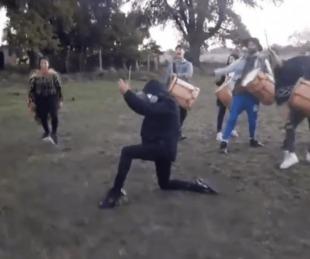 foto: Video: L-Gante zapateando y a puro folckore