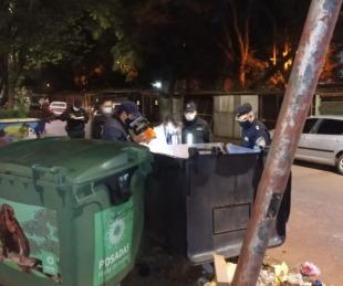 foto: Detuvieron a la mamá de un bebé hallado muerto en la basura