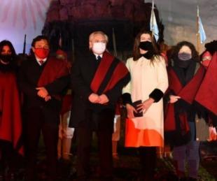foto: Cacerolazos y bocinazos en Salta por la llegada de Alberto Fernández