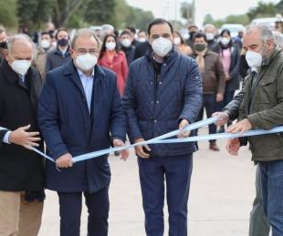 foto: Provincia y Municipio inauguraron pavimento de la Av. Santa Catalina